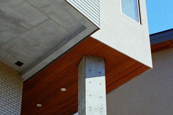 detail of custom house exterior