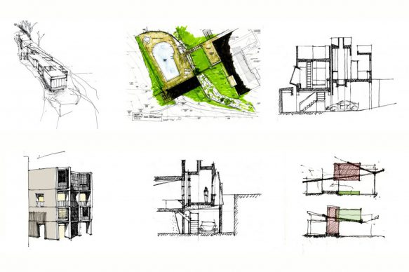 sketches by Architect