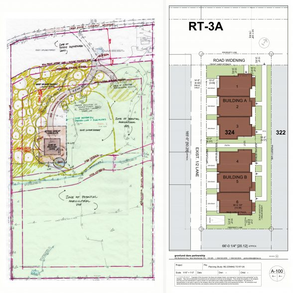 feasibility and planning studies by Architect